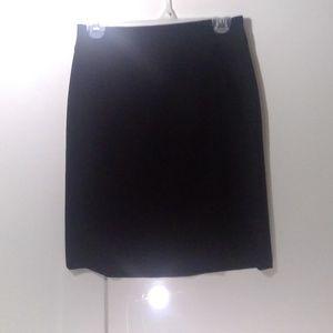 Banana Republic Black Aline Skirt